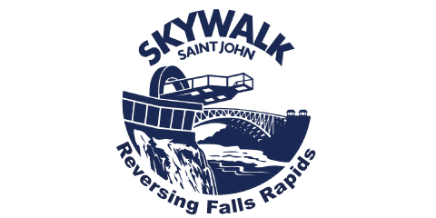 Reversing Falls Rapids Skywalk Saint John Logo