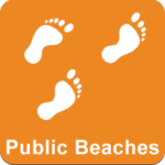 Icon: Nearby Public Beaches