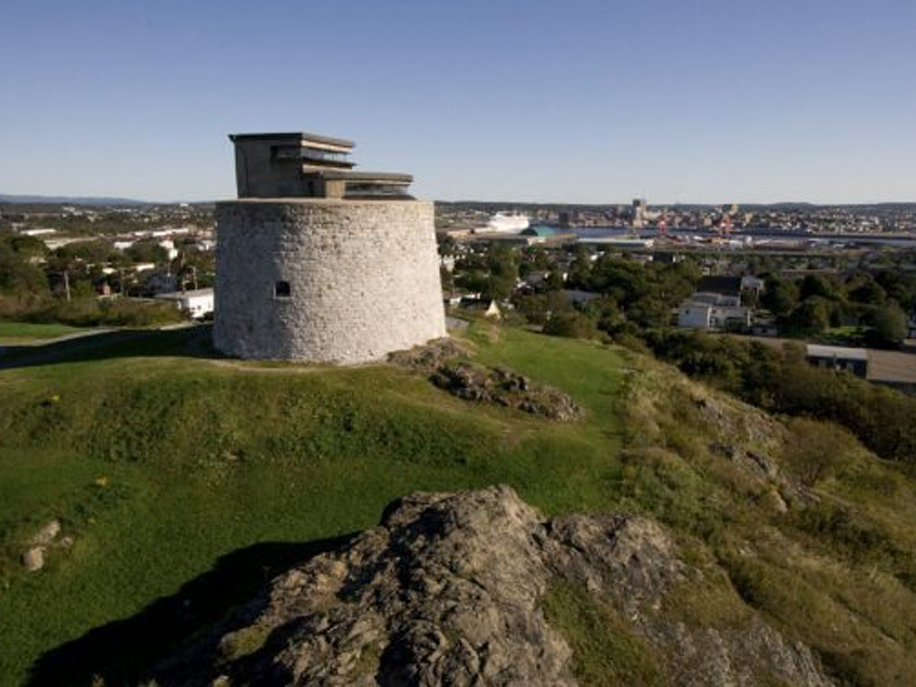 Martello Tower Saint John New Brunswick